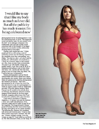 plus size models and body image for women - the fashionable housewife